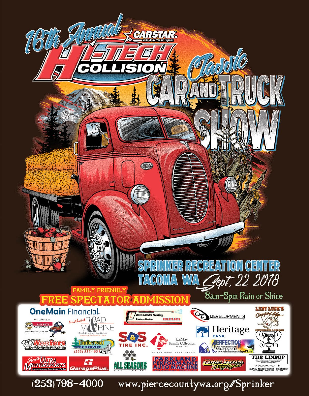 16th Annual Carstar Hi-Tech Collision Classic Car & Truck Show! 500+ Classic Cars and Trucks!!