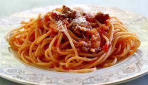 Spaghetti Saus Tomat Lezat