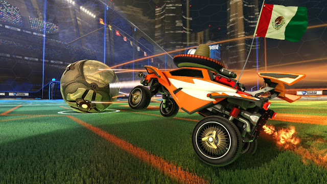 Rocket League screenshot rambling fox gaming reviews