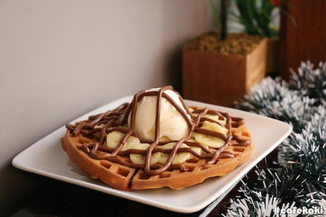 Caramel Waffle (RM10.90)