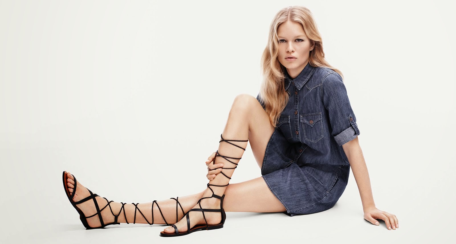 Anna Ewers for MANGO SS2015