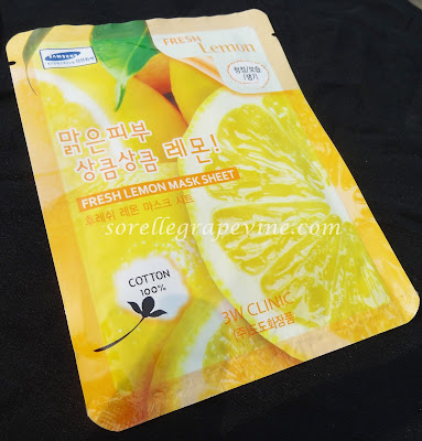 3W Clinic Fresh Lemon Mask Sheet