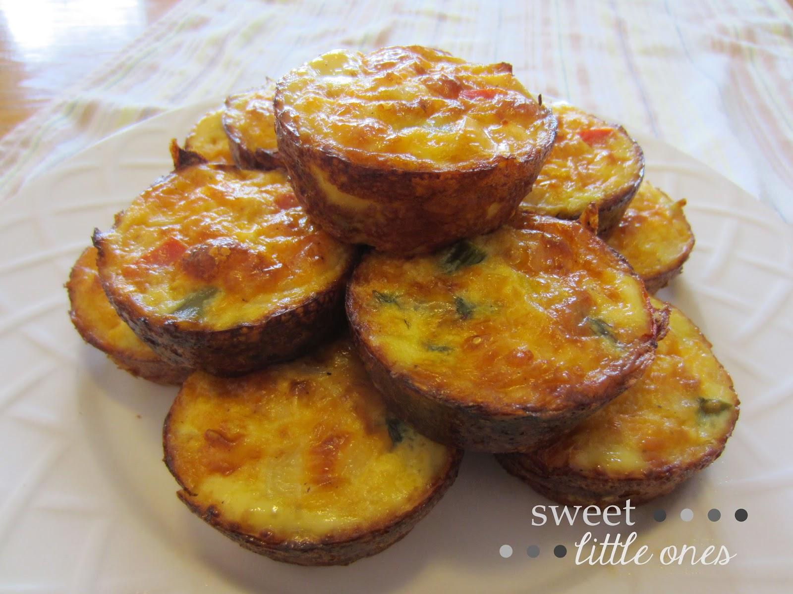 Crustless Quiche with Veggie Mix-ins