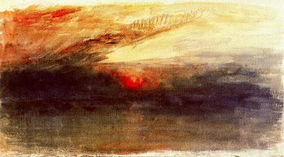 Crepuscle amb núvols foscos (Joseph Mallord William Turner)
