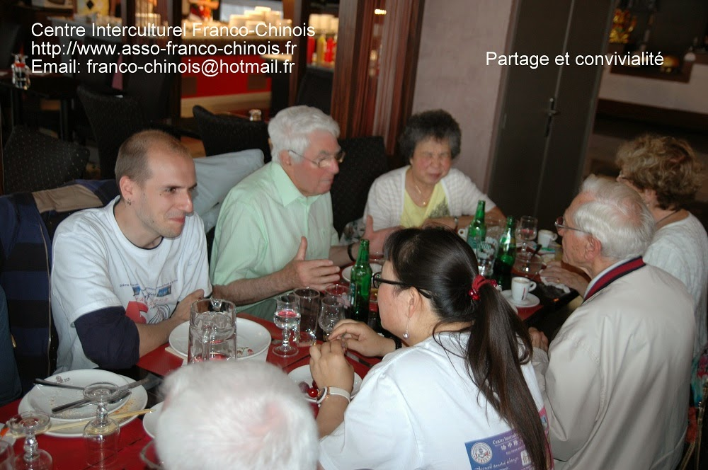 Centre interculturel franco chinois repas convivial fin d for Repas simple et convivial