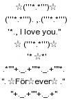 Tin nhắn xếp hình tình yêu 4