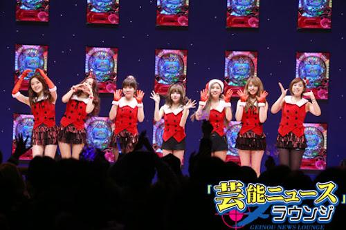 Foto Kemeriahan Acara DX'mas Party with T-ARA di Jepang