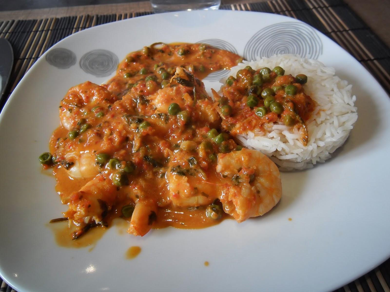 Un peu toqu es curry rouge de crevette recette de jamie - Livre cuisine jamie oliver ...