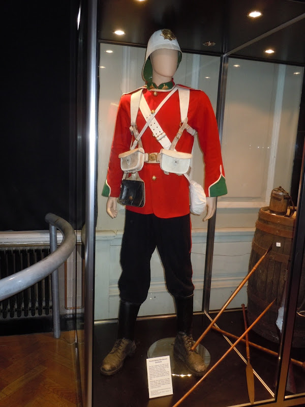 South Wales Borderers uniform Zulu film