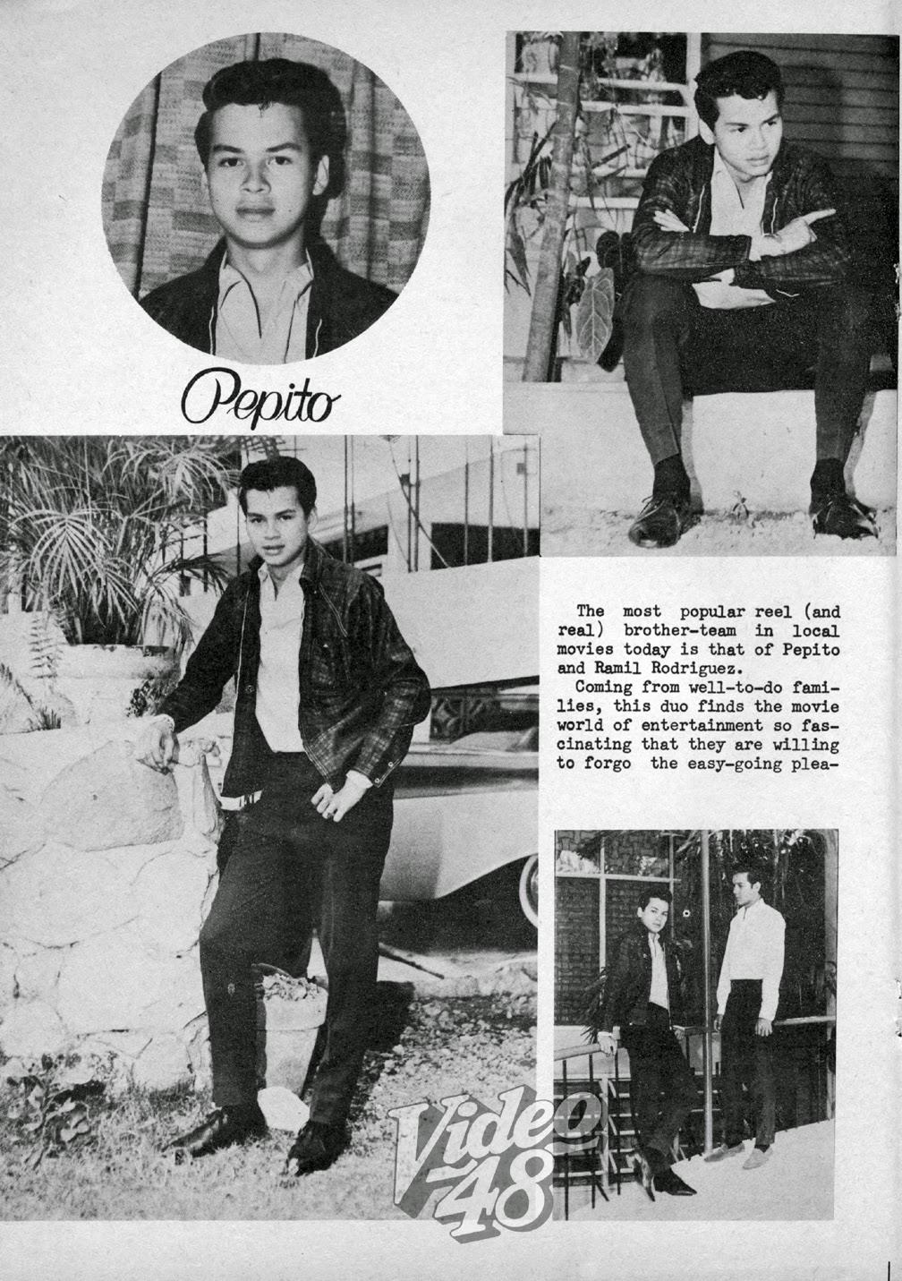 Ramil Rodriguez Video 48 1965 MEET PEPITO RODRIGUEZ AND RAMIL RODRIGUEZ POPULAR
