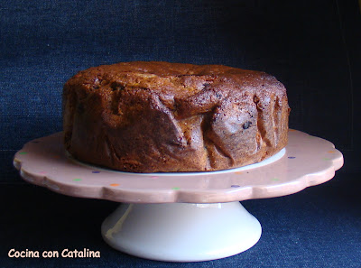 Orange fruit cake 1