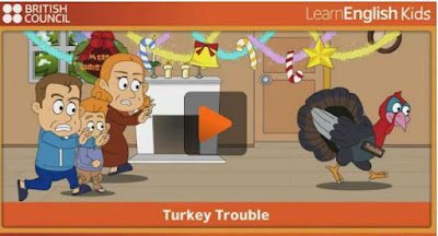 http://learnenglishkids.britishcouncil.org/en/songs/turkey-trouble
