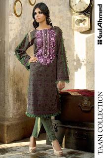Taani Collection 2016 - Digital Silk Dresses