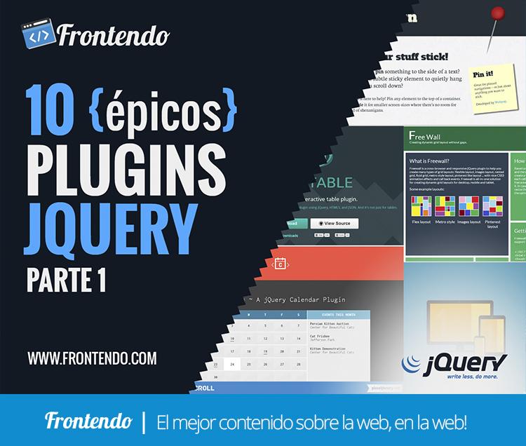10 epicos Plugins JQuery