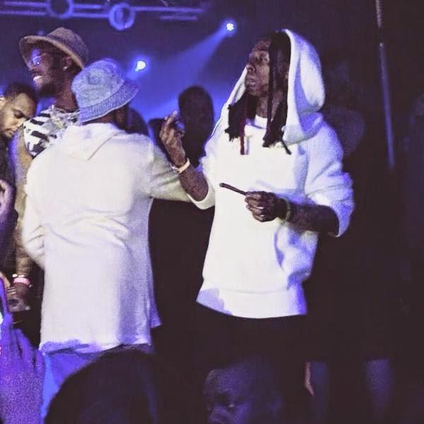 fotos de lil wayne lil twist mack maine hood dj feezy en el club Highline Ballroom