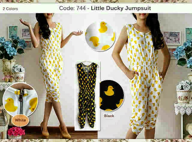 jumpsuit duck