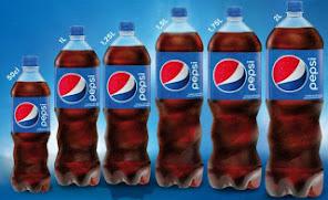 La nuova bottiglia Pepsi