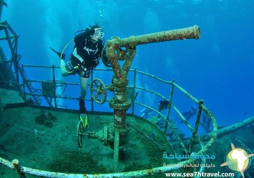 اجمل اماكن الشعاب المرجانية للغوص