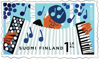 EUROPA CEPT 2014 - Dedicado a los instrumentos musicales FI-14-1