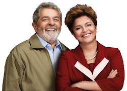 LULA E DILMA AJUDANDO O BRASIL A CRESCER