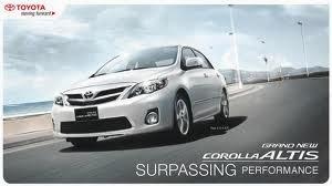 Mobil Sedan Corolla Berkualitas Dunia