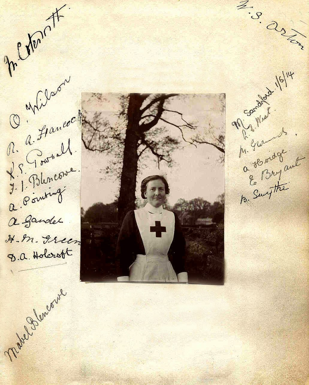 Chailey 1914-1918: Chailey\'s nurses - Sussex 54 VAD