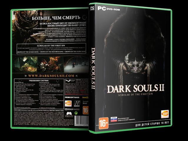 Capa Dark Souls II Scholar Of The First Sin PC