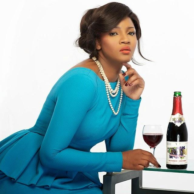 omotola pure heaven wine nigeria