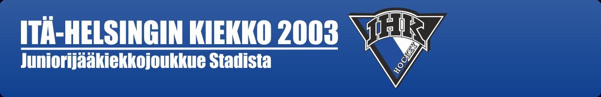 Itä-Helsingin Kiekko 2003