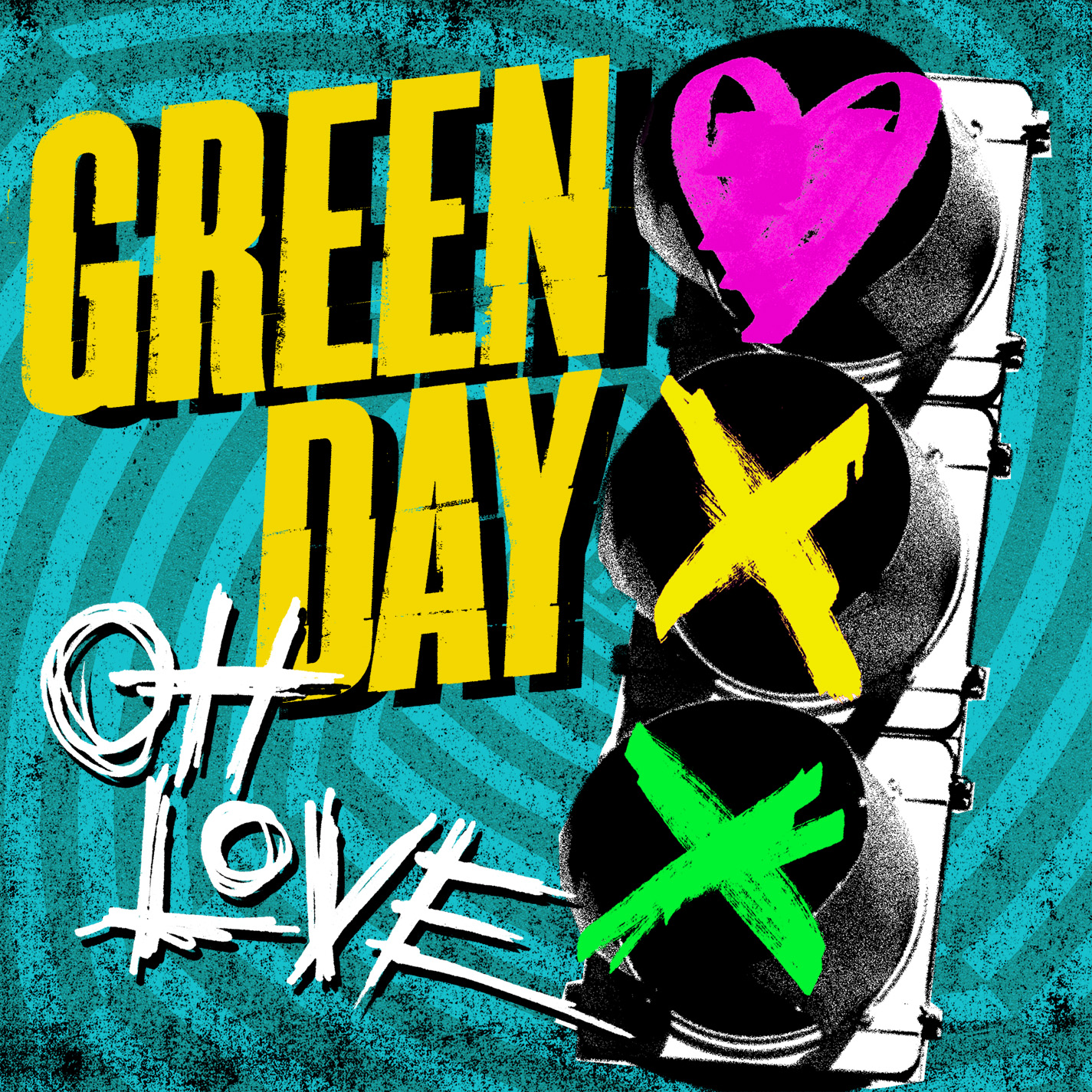 Cover Album Green Day oh Love New Music Green Day oh Love