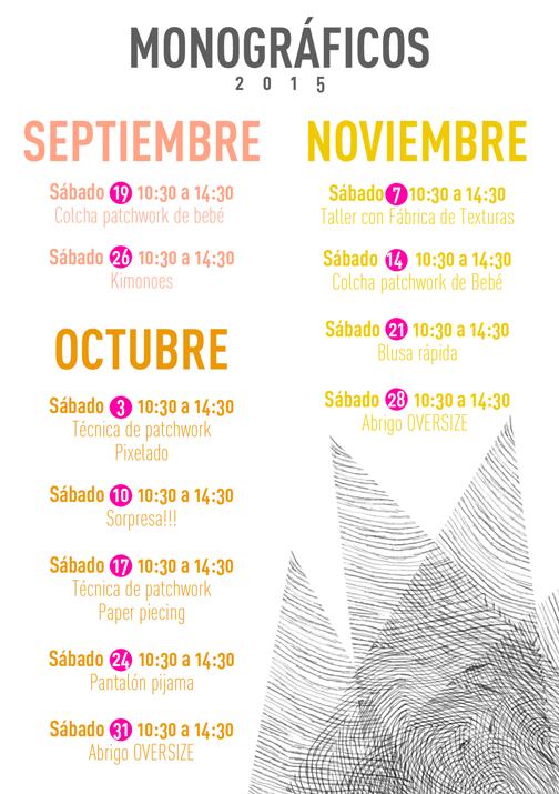 Monográficos Trapo y Tela 2015 Madrid