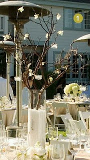 Wedding Decorations, Centerpieces and Flower Arrangements in Brown