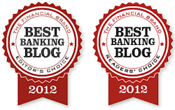Readers&#39; and Editor&#39;s Choice Best Banking Blog Award 2012