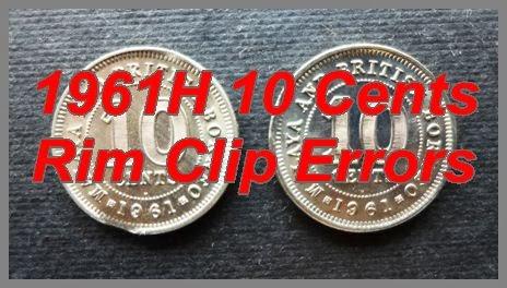 Malaya and British Borneo 1961 10 Cents