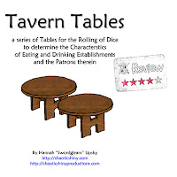 Frugal GM Review: Tavern Tables