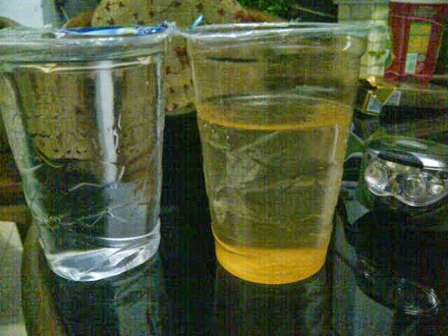 hasil filter air bandung air jernih dari keruh