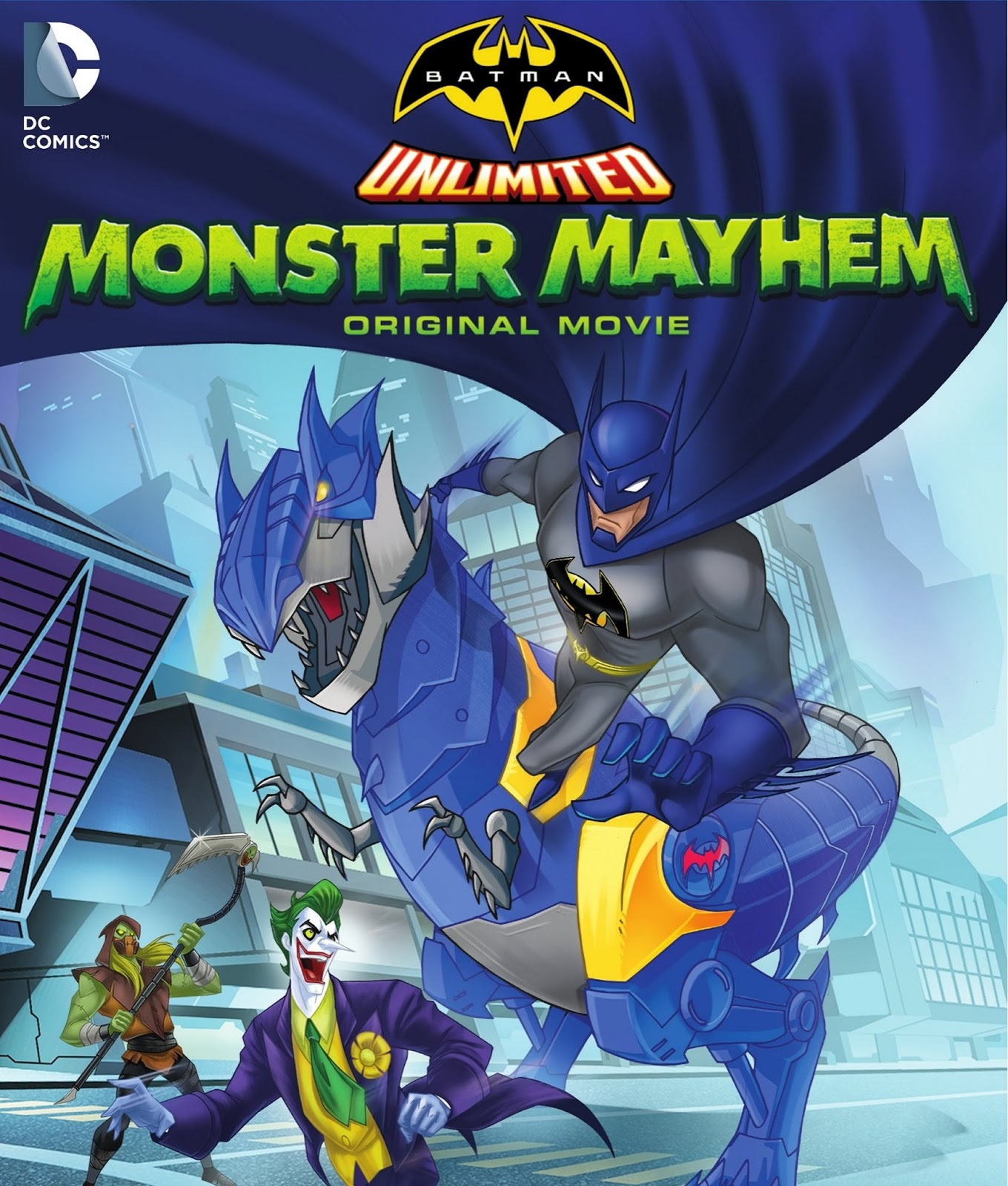 Batman Sem Limites: Caos Monstruoso – Dublado (2015)