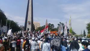 Ribuan Massa Aliansi Nasional Anti Komunis Lakukan Aksi Damai Tolak RUU HIP