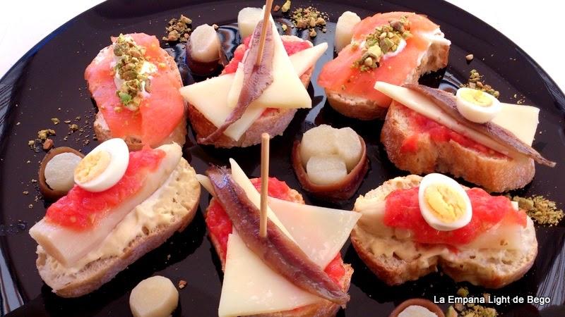 Montaditos y tostas faciles y rapidos para aperitivos cocina for Canapes faciles y baratos