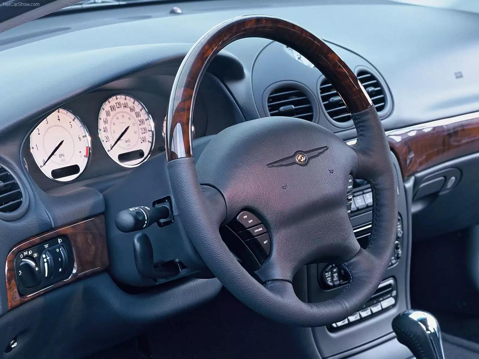 Hình ảnh xe ô tô Chrysler 300M 2003 & nội ngoại thất