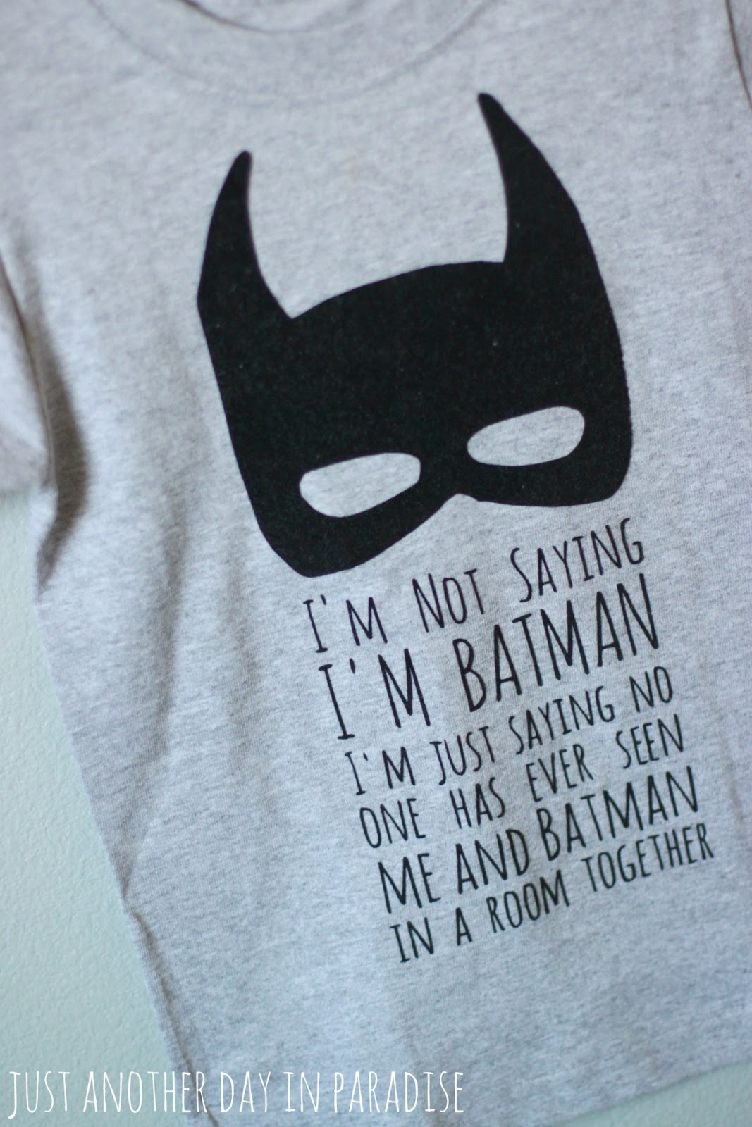 larissa another day a pinteresting wednesday batman t shirt. Black Bedroom Furniture Sets. Home Design Ideas