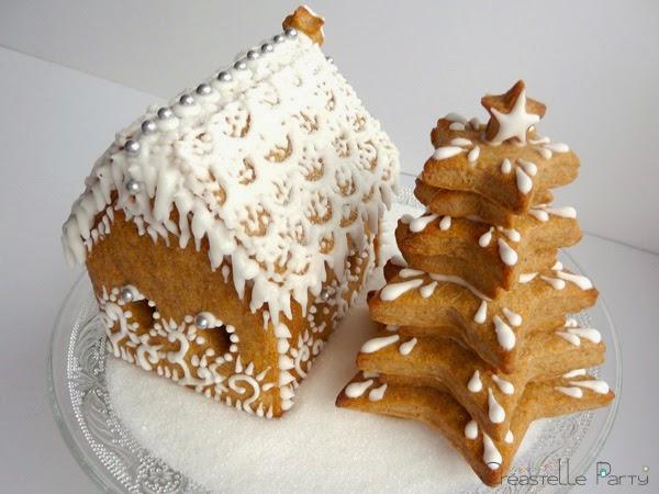Maison en pain d'épice - Gingerbread house