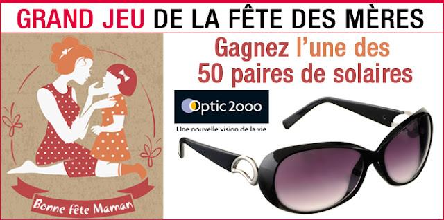 50 paires de lunettes de soleil
