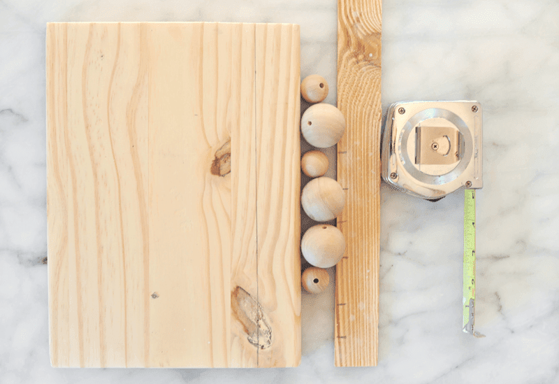 DIY Modern Wood Key Holder Tutorial