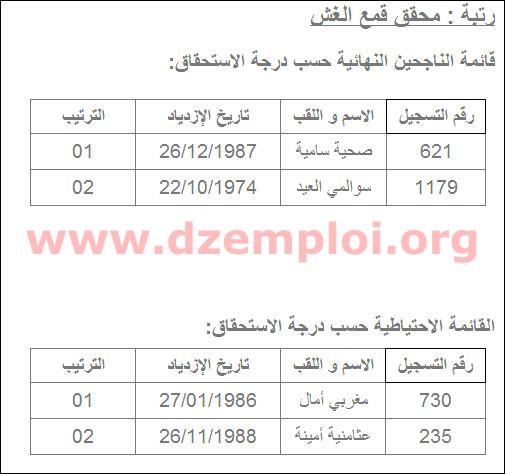 نتائج مسابقة التوظيف في مديرية التجارة لولاية بسكرة 2013 3.JPG