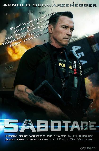 Sabotage (2014) ซาโบทาช คนเหล็กล่านรก