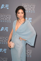 Constance Wu best dresses at the Critics Choice Awards 2016 red carpet photo