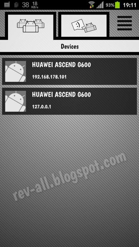 Tampilan utama wi-fi talkie lite - berkomunikasi pesan, telepon dan kirim file atau dokumen via wifi (rev-all.blogspot.com)