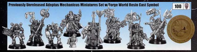 Figuras de edición limitada del Adeptus Mechanicus