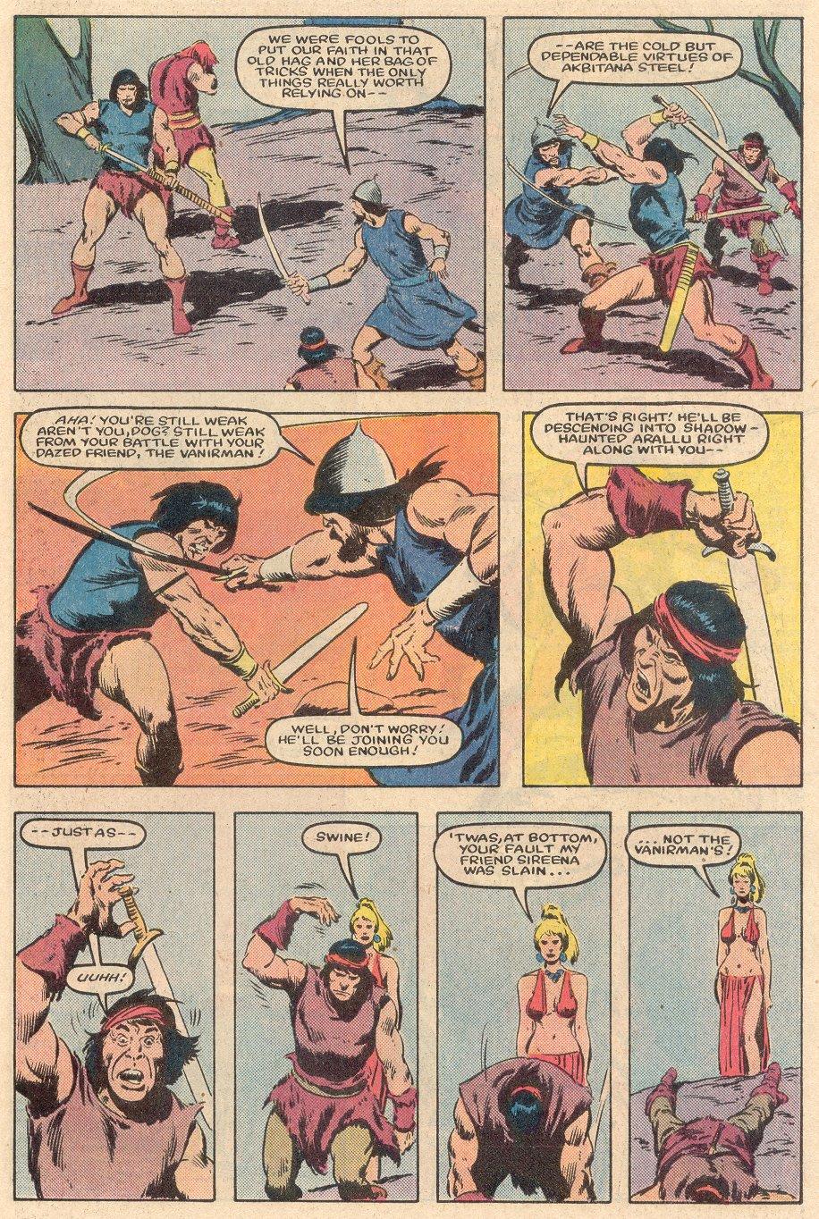 Conan the Barbarian (1970) Issue #161 #173 - English 23